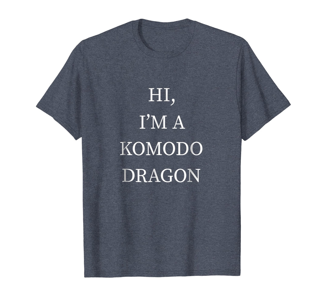 I'm a Komodo Dragon Halloween Shirt Funny Last Minute Idea