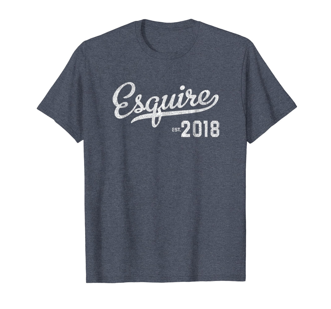 Esquire Lawyer Graduation 2018 T-shirt Gift