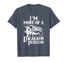 Afbeelding in Gallery-weergave laden, More of a Dragon Person T-Shirt. Role Play RPG Board Game