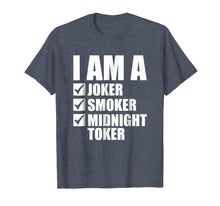 Afbeelding in Gallery-weergave laden, I'm a Joker Smoker Midnight Toker Rock and Roll T-Shirt