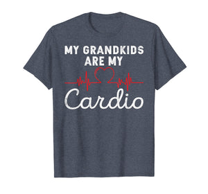 My Grandkids are My Cardio Funny Grandparent T-Shirt