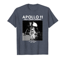 Afbeelding in Gallery-weergave laden, Moon Landing Shirt Apollo 11 50th Anniversary T-Shirt