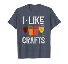 Afbeelding in Gallery-weergave laden, I Like Crafts Funny Vintage Brewer Craft Beer Shirt