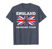 Afbeelding in Gallery-weergave laden, England Drinking Team T-Shirt Funny Beer Party Tee Gift