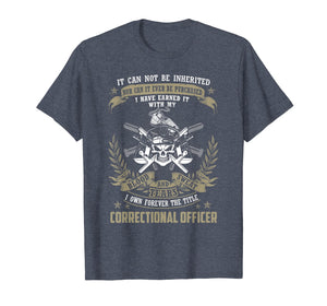 Mens Correctional Offcier, It Can Not Be Inherited Or Purchased T