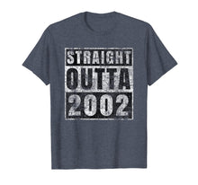 Afbeelding in Gallery-weergave laden, Straight Outta 2002 17 Year Old 17th Birthday Gift T-Shirt