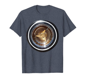 LOWRIDER WHEEL T SHIRT