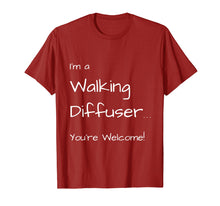Afbeelding in Gallery-weergave laden, I'm a Walking Diffuser You're Welcome! doTERRA T-shirt