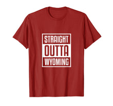 Afbeelding in Gallery-weergave laden, Cool Straight Outta Wyoming Shirt Sheriff Wild West Country