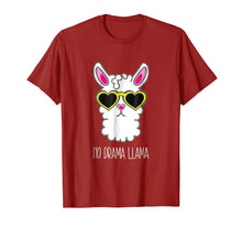 Afbeelding in Gallery-weergave laden, Summer Sunglasses Llama No Drama Shirt Cool Lllama Stuff