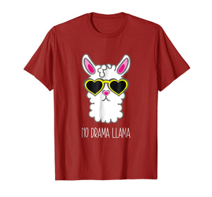 Summer Sunglasses Llama No Drama Shirt Cool Lllama Stuff