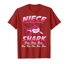 Afbeelding in Gallery-weergave laden, Niece Shark Doo Doo Doo T-Shirt