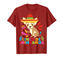 Afbeelding in Gallery-weergave laden, Chihuahua Dog Animal Funny Mexican Cinco De Mayo Shirt