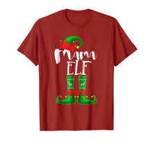 Afbeelding in Gallery-weergave laden, Mama Elf Matching Family Christmas Pajama Shirt Gift Women