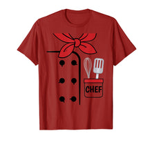 Afbeelding in Gallery-weergave laden, Cook Chef Coat Costume Funny Halloween Shirt Kids Adults