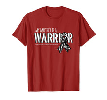 Afbeelding in Gallery-weergave laden, My Mother is a Warrior Carcinoid Cancer Shirt
