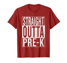 Afbeelding in Gallery-weergave laden, Straight Outta Pre-K | Pre-K Grad Tee Graduation Gift Shirt