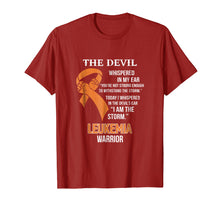 Afbeelding in Gallery-weergave laden, I Am The Storm Support Leukemia Awareness Warrior Gift Shirt