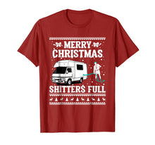 Afbeelding in Gallery-weergave laden, Merry Christmas Shitters Full Ugly Sweater T-Shirt