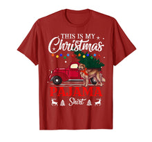 Afbeelding in Gallery-weergave laden, This Is My Christmas Pajama Shirt Golden Retriever   T-Shirt
