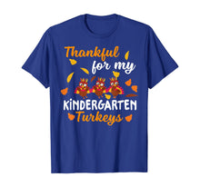 Afbeelding in Gallery-weergave laden, Thankful Turkeys Kindergarten Teacher Shirts Thanksgiving T-Shirt