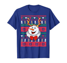 Afbeelding in Gallery-weergave laden, Snowman Reindeer Ugly Christmas Sweater T-Shirt