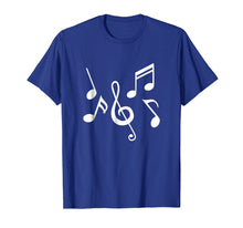 Afbeelding in Gallery-weergave laden, Music notes T-Shirt