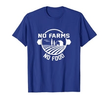 Afbeelding in Gallery-weergave laden, No Farms No Food Dairy and Beef Farmer T-shirt