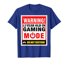 Afbeelding in Gallery-weergave laden, 12th Birthday Gamer T-Shirt Boys Girls PC Gaming Tee Shirt