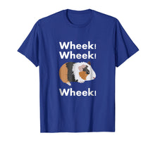 Afbeelding in Gallery-weergave laden, Cute & Funny Wheek - Guinea Pig Owner / Cavy Lover T-Shirt