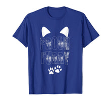 Afbeelding in Gallery-weergave laden, Proud Furry Furries Tail and Ears Cosplay Cute Pet T-Shirt
