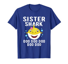 Afbeelding in Gallery-weergave laden, Sister Shark Shirt for Matching Family Pajamas
