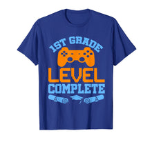 Afbeelding in Gallery-weergave laden, 1st Grade Level Complete Video Gamer T-Shirt Graduation Gift