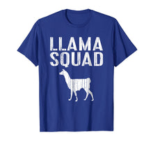 Afbeelding in Gallery-weergave laden, Llama Squad T-Shirt Animal Lover Gift Shirt