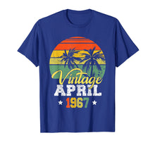 Afbeelding in Gallery-weergave laden, April 1967 T-shirt Retro Vintage 52nd Birthday Decoration