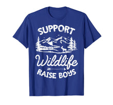 Afbeelding in Gallery-weergave laden, Support Wildlife Raise Boys T shirt Parents Mother Father