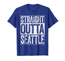 Afbeelding in Gallery-weergave laden, Straight Outta Seattle T-Shirt Washington Gift Shirt