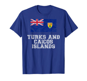 Turks and Caicos Islands Flag I  Men Women Kids T-Shirt