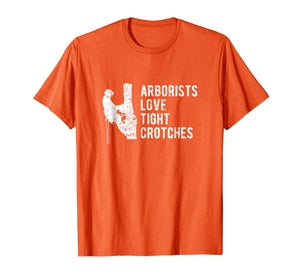 Mens Funny Arborist T-Shirt | Father's Day Tree Climber Gift