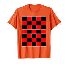 Afbeelding in Gallery-weergave laden, Funny Checkerboard Shirt Board Games Black & Red for Men