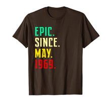 Afbeelding in Gallery-weergave laden, Born in May 1969 T Shirt Funny 50th Birthday Gift Him Her