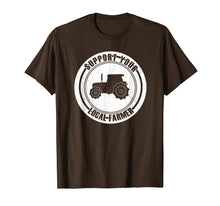 Afbeelding in Gallery-weergave laden, Support Your Local Farmers T-Shirt I Farming Greens Go Vegan