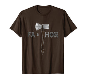 Fa Thor Men T Shirt Fathor Father's Day Gift