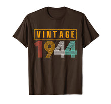 Afbeelding in Gallery-weergave laden, 75 Years Old 1944 Vintage 75th Birthday T Shirt Decorations
