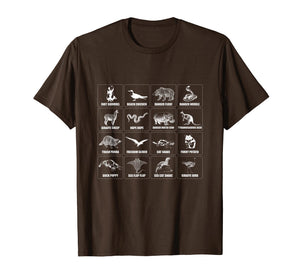Internet Meme Animals Shirt Funny Animal Names Of The World