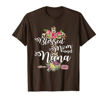 Afbeelding in Gallery-weergave laden, Blessed To Be Called Mom And Nana Tshirt Mothers Day Gift