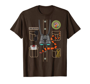 Zookeeper Costume Party Halloween  T-Shirt