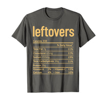Afbeelding in Gallery-weergave laden, Thanksgiving Leftovers Nutrition Facts Funny Christmas T-Shirt