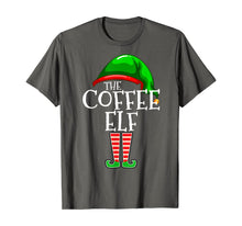 Afbeelding in Gallery-weergave laden, The Coffee Elf Group Matching Family Christmas Gifts Funny T-Shirt
