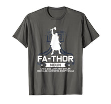 Afbeelding in Gallery-weergave laden, Mens father like a dad just way cooler father's day thunder god T-Shirt